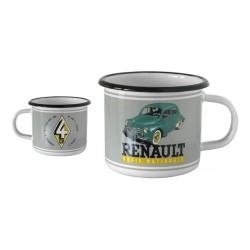 Mug en métal émaillé Renault 4 CV