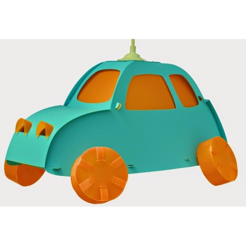 luminaire pour enfant en forme de voiture bicolore boutique fou du volant. Black Bedroom Furniture Sets. Home Design Ideas