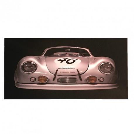 """Tirage photo sur toile """"Porsche 356"""" format 120 cm x 60 cm"""