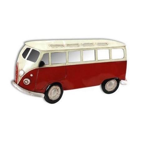 Miroir Combi VW Volkswagen rouge format 125cm x 90 cm