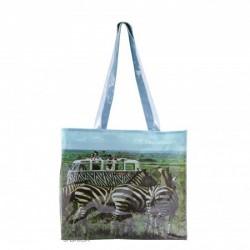 Shopping Bag imprimé Combi VW Safari