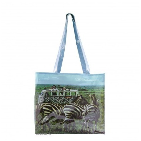 Shopping Bag imprimé Combi VW Safari