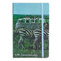 Cahier Notebook format A5 imprimé Combi VW Safari