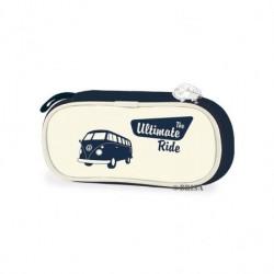Trousse Combi VW marine pour stylos ou maquillage