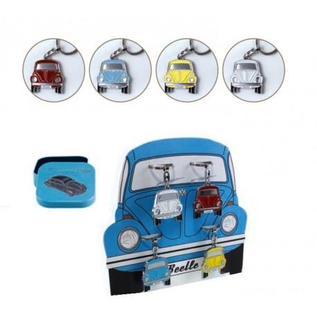 Porte-Clef Coccinelle VW - 4 coloris au choix