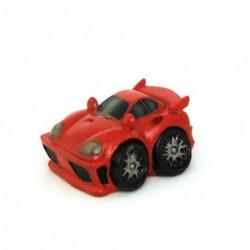 Auto miniature décorative avec un petit air de Ferrari rouge