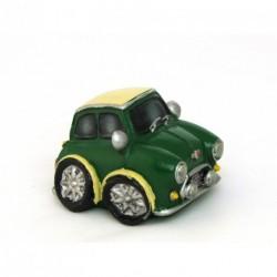 Auto miniature décorative avec un petit air d'Austin Mini - 2 coloris au choix