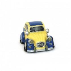 Auto miniature décorative avec un petit air de 2 CV - 3 coloris au choix