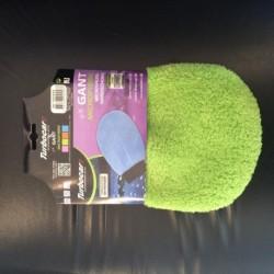 Gant mouffle de nettoyage vert pomme