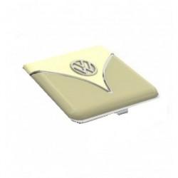 Etui A Cigarettes au logo Combi VW bicolore kaki et beige