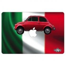 """Sticker """"Fiat 500""""  pour ordinateur Mac book 32x22 cm"""