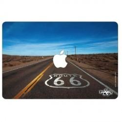 """Sticker """"Route 66""""  pour ordinateur Mac book 32x22 cm"""