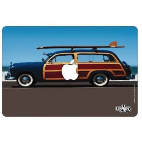 "Sticker ""Buick  and Surf""  pour ordinateur Mac book 32x22 cm"