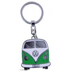 Porte-Clef Combi VW en métal peint vert