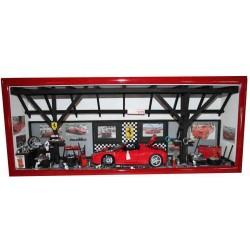 "Tableau vitrine  "" L'Atelier Ferrari"" - format XL"