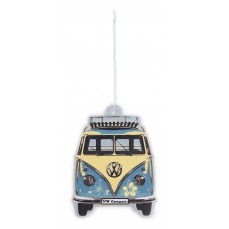 Désodorisant  pour  voiture  Combi VW bleu ciel parfum pina colada