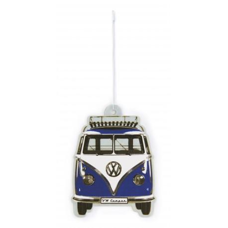 Diffuseur de parfum  pour  voiture  Combi VW bleu marine  parfum océan