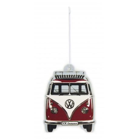 Diffuseur de parfum  pour  voiture  Combi VW rouge  parfum vanille