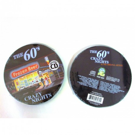 """CD Audio - Compilation """"The 60's Crazy Nights"""""""