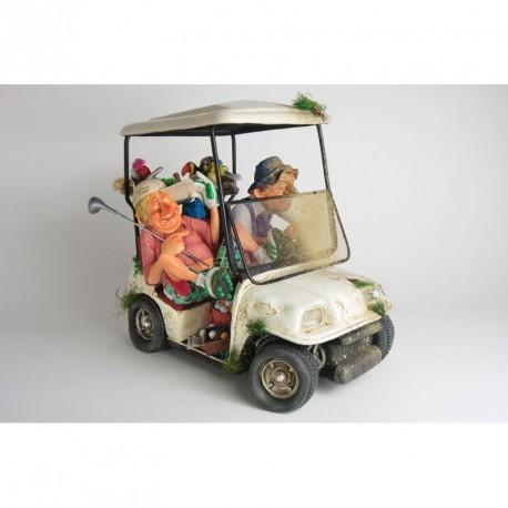 """Figurine """"Les Amis Golfeurs"""" format medium en série numérotée de Guillermo Forchino"""