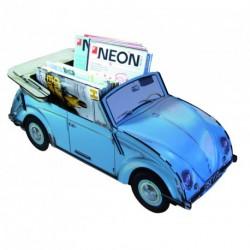 Coffre à ranger Coccinelle VW bleu