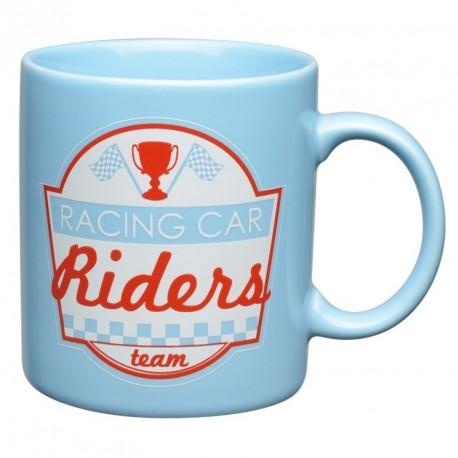Mug Bleu Enfant Ligne Racing Car Riders