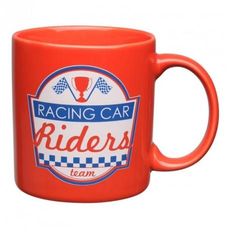 Mug Rouge Enfant Ligne Racing Car Riders