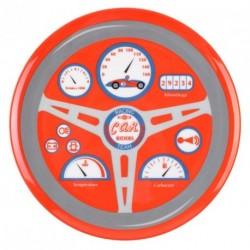 """L'Assiette Enfant auto rouge """"Vroum"""" Ligne Racing Car Riders"""