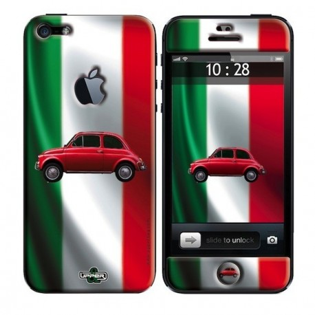 Coque Iphone 5 imprimée FIAT 500
