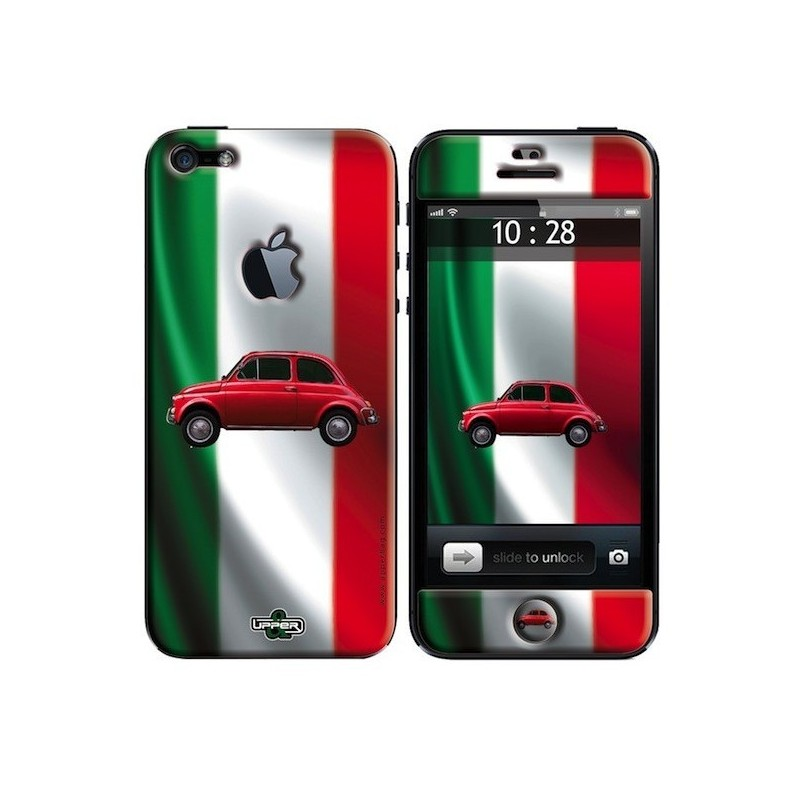 coque iphone 5 imprim e fiat 500 boutique fou du volant. Black Bedroom Furniture Sets. Home Design Ideas