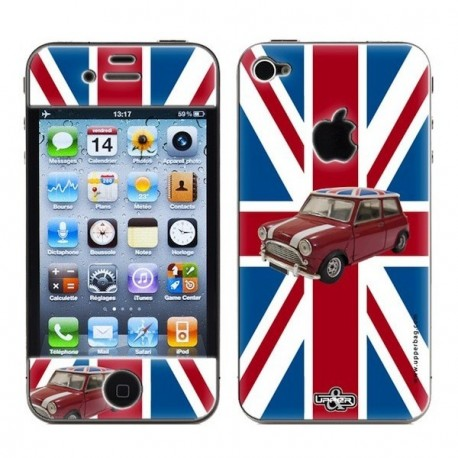 Coque Iphone 5 imprimée AUSTIN MINI
