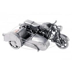 SIDE-CAR Décoratif en acier