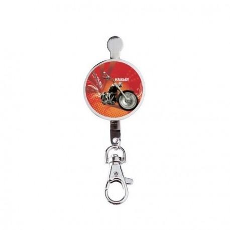 Porte clef imprim harley davidson boutique fou du volant - Porte clef pour ne pas perdre ses clefs ...