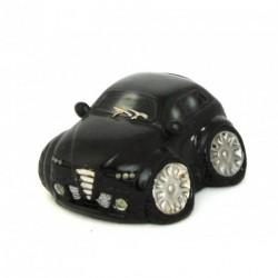 Auto décorative avec un petit air de Alfa Roméo noir
