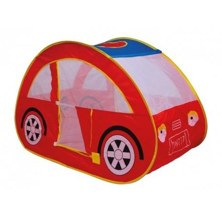 Tente Auto pour enfant en forme de voiture rouge