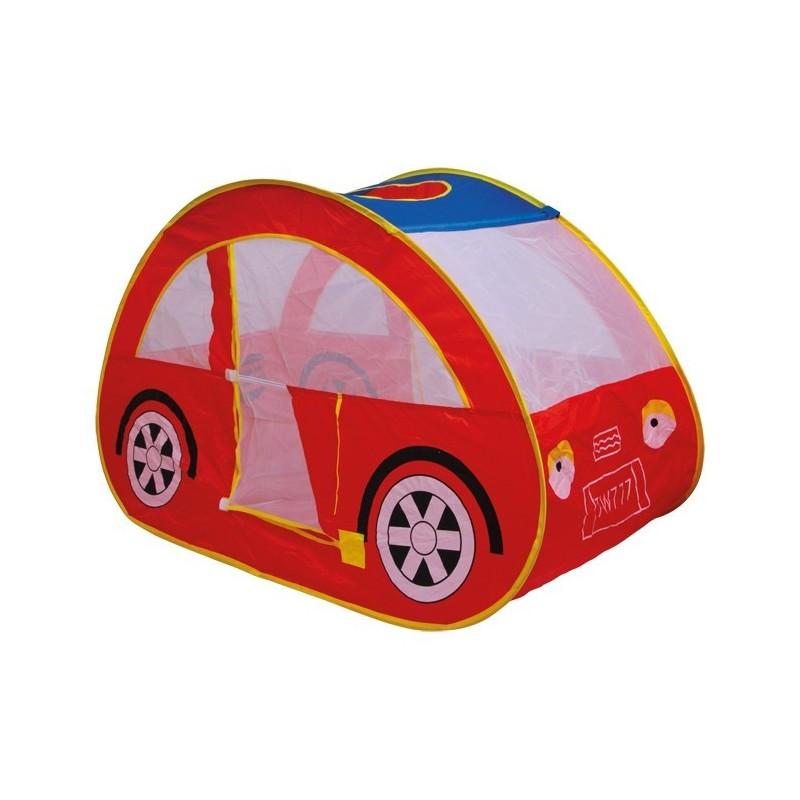 tente auto pour enfant en forme de voiture rouge boutique fou du volant. Black Bedroom Furniture Sets. Home Design Ideas