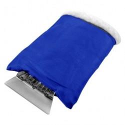 Gant gratte-givre et neige bleu dur