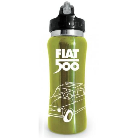 Gourde FIAT 500 Jaune