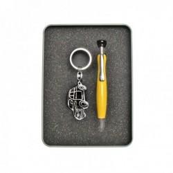 Kit stylo + son Porte-clef FIAT 500