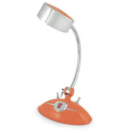 Lampe de bureau griffée FIAT 500 orange