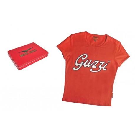 T-shirt MOTO GUZZI  rouge