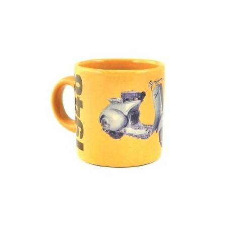 Mug VESPA 1948 jaune moutarde