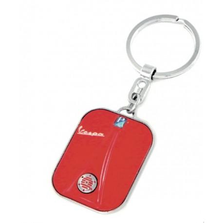 Porte-clef façon avant de VESPA rouge