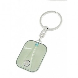 Porte-clef façon avant de VESPA vert amande