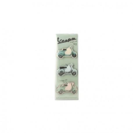 Pack de 3 magnets VESPA des années 50