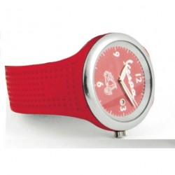 Montre VESPA rouge vif
