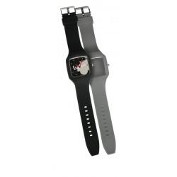 Montre VESPA en silicone à bracelets interchangeables noir et bleanc cassé