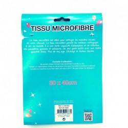 Chiffon de nettoyage humoristique en microfibre bleu ciel