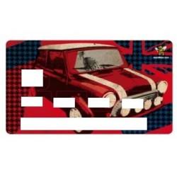 Sticker de Carte Bancaire Austin Mini
