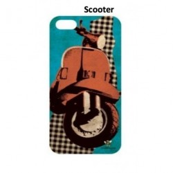 Coque Iphone 4/4S et 5/5S Vespa